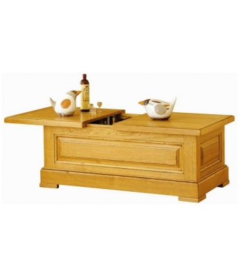 Carennac Oak Coffee Table Chest