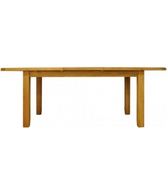 Malvern Medium Butterfly Extending Oak Table