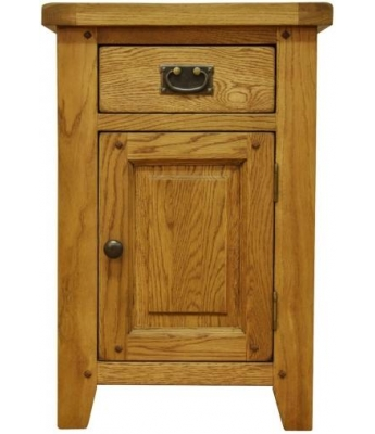 Malvern Small Oak Cupboard with Drawer