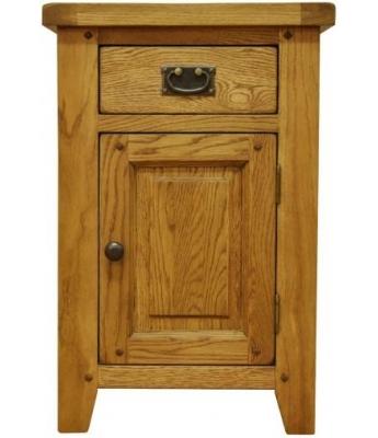Malvern Small Oak Cupboard with Drawer