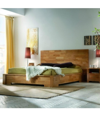 Conarte Finger Joint Oak 5ft Bed