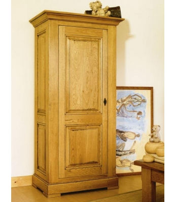Carennac 1 Door Oak Wardrobe