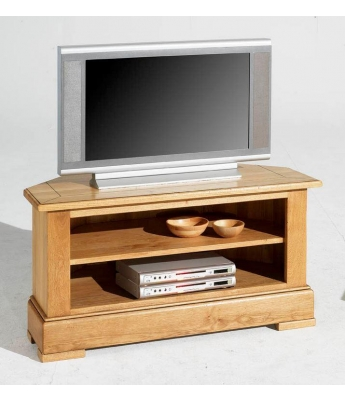 Carennac Oak Corner TV Unit