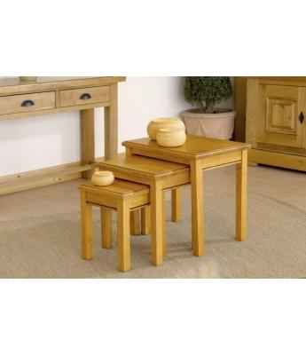 Carennac Oak Nest of Tables