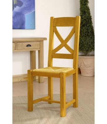 Carennac X-Back Oak Dining Chair
