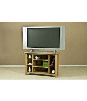 Turpelo Oak Corner Video Unit