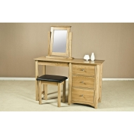 turpelo oak dressing table stool