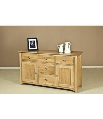 Turpelo Oak 4ft 6in Dresser Base