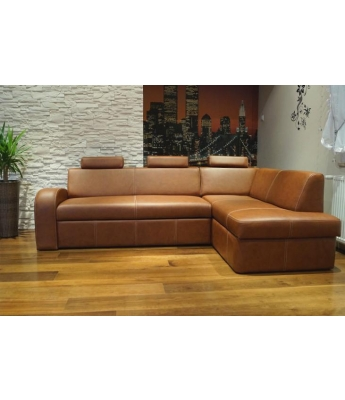 Venice Italian Leather Sofabed