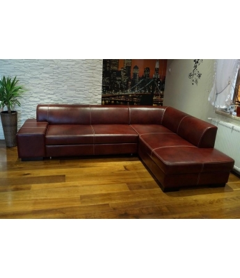 Roma Italian Leather Sofabed