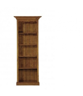 Irish Coast Small 5 Shelf Bookcase (African Dusk Finish)