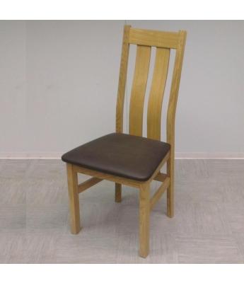Utah Twin Slat Oak Dining Chair