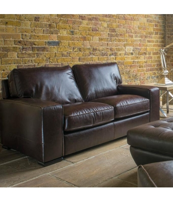 Barney 2 Seater Leather Sofa