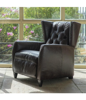 Barney Leather Recliner