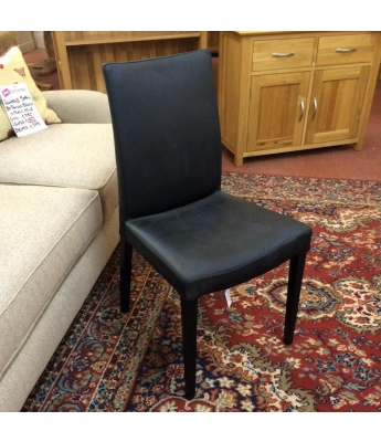 Capri Leather Dining Chair