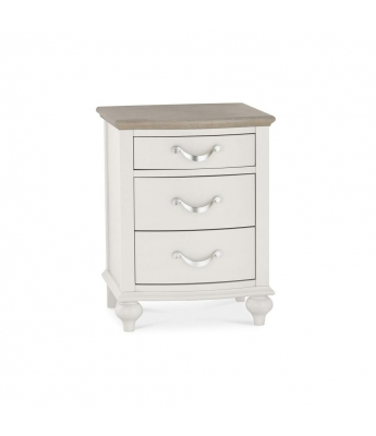 Versailles 3 Drawer Bedside Chest