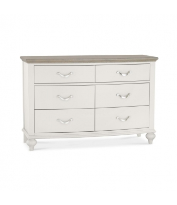 Versailles 6 Drawer Wide Chest