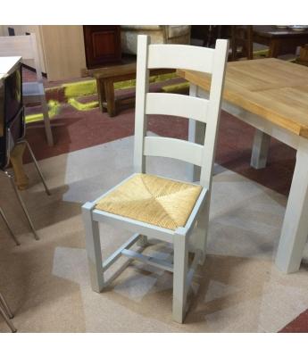 Carennac Oak Farmhouse Chair with Rush Seat