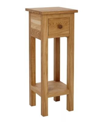Ardennes Small Oak Telephone Table