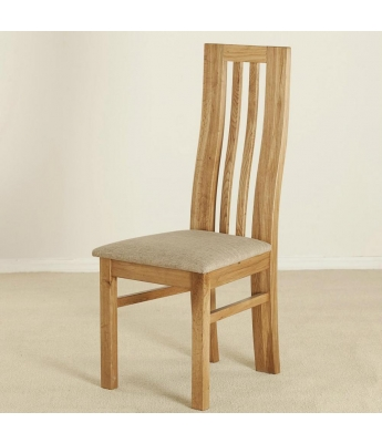 Ardennes Shaped Back Oak Chair