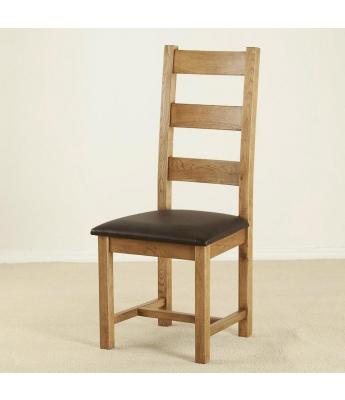 Ardennes Ladder Back Oak Chair