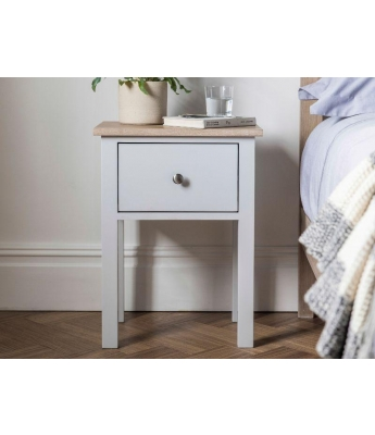Salcombe 1 Drawer Bedside Chest