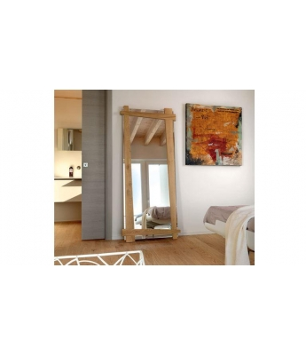 Conarte Crisalide Oak Mirror (Inclined Sides)