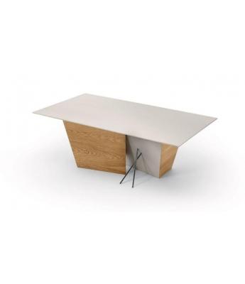 Conarte Crisalide Oak Extending Table (Central Leg)