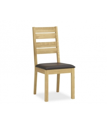 Perigord Oak Slatted Dining Chair