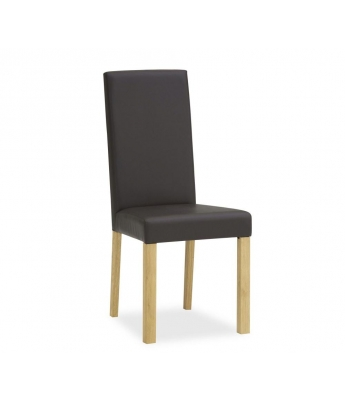 Perigord Oak Upholstered Dining Chair