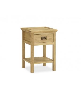 Perigord Oak Lamp Table