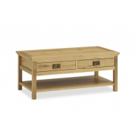 perigord oak coffee table