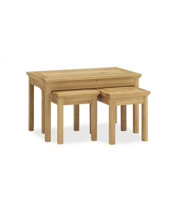 Perigord Oak Nest of Coffee Tables
