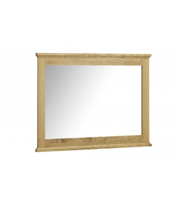 Perigord Oak Wide Wall Mirror