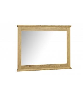 Perigord Oak Wide Wall Mirror