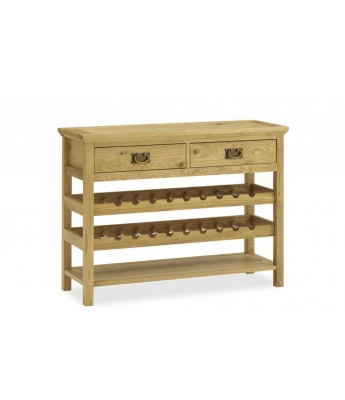 Perigord Oak Console Table