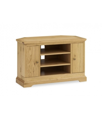 Perigord Oak Corner TV Unit