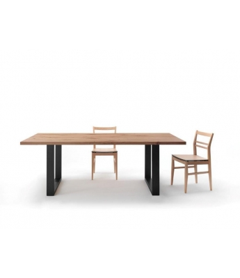 Conarte Vertigine + Iron Oak Table (2
