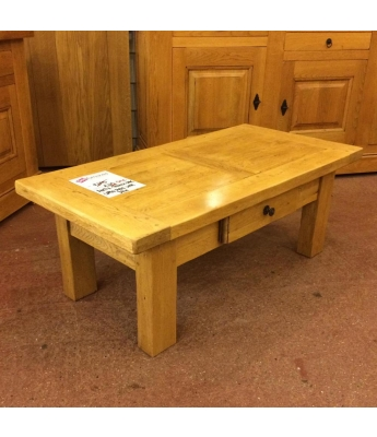 Antix Oak Coffee Table with Drawer