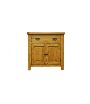 Malvern Small Oak Sideboard with Drawer