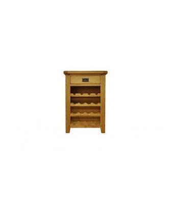 Malvern Oak Wine Cabinet