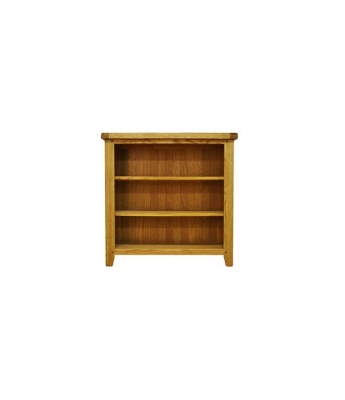 Malvern Small Wide Oak Bookcase