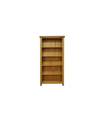 Malvern Large Wide Oak Bookcase