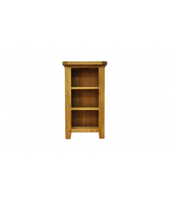 Malvern Small Narrow Oak Bookcase