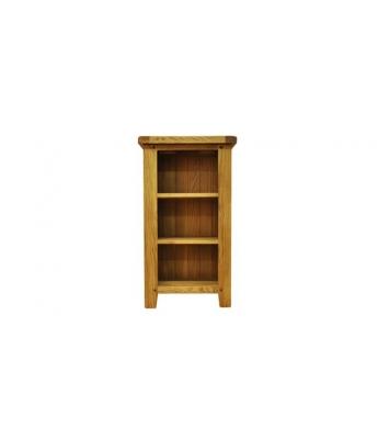 Malvern Small Narrow Oak Bookcase