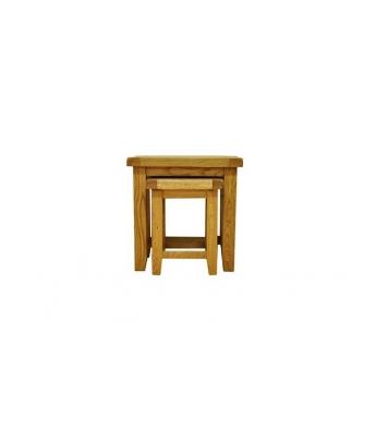 Malvern Oak Nest of 2 Tables