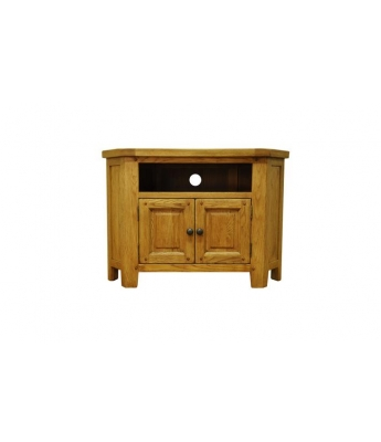 Malvern Oak Corner TV Unit