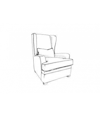 Delphine Wing Chair