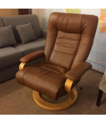 Olivia Leather Recliner