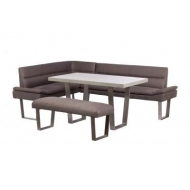 petra corner group dining set